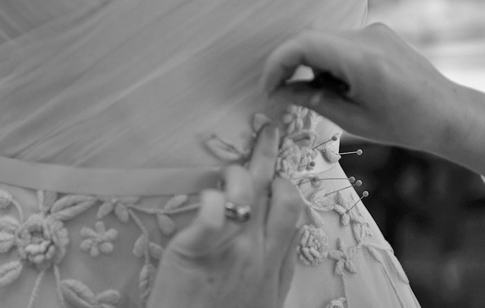 THE MAKING OF A MODERN TROUSSEAU GOWN