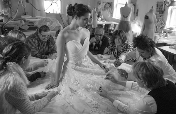 BEHIND THE SCENES AT MODERN TROUSSEAU